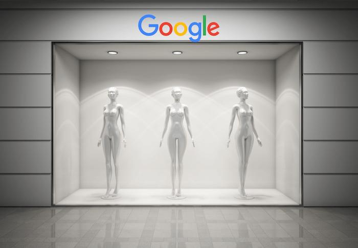 A montra da google
